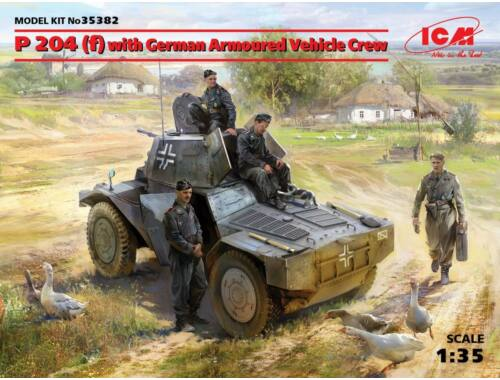 ICM P 204(f)with German Armoured VehicleCrew 1:35 (35382)