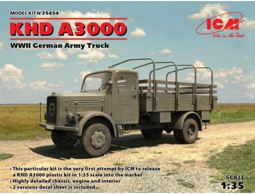 ICM KHD A3000, WWII German Truck 1:35 (35454)