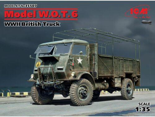 ICM Model W.O.T.6,WWII British Truck 1:35 (35507)