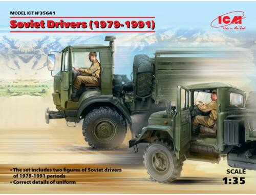 ICM Soviet Drivers(1979-1991)(2 Figures) 1:35 (35641)