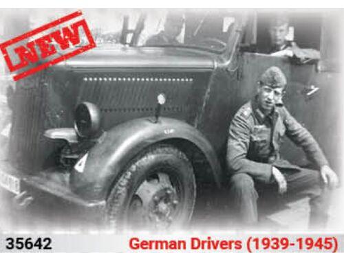 ICM German Drivers(1939-1945)(4 Figures) 1:35 (35642)