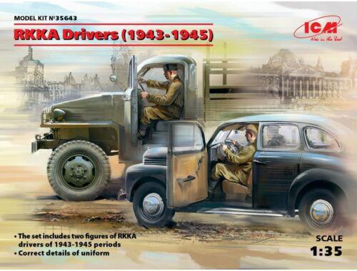 ICM RKKA Drivers(1943-1945)(2 Figures) 1:35 (35643)