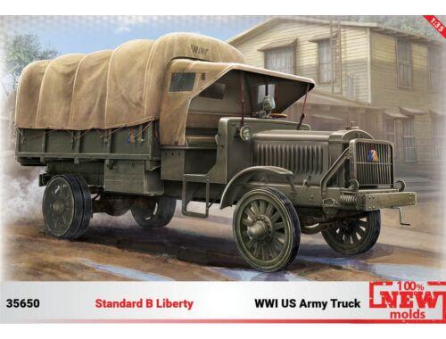 "ICM Standard B""Liberty"",WWII US Army Truck, 1:35 (35650)"