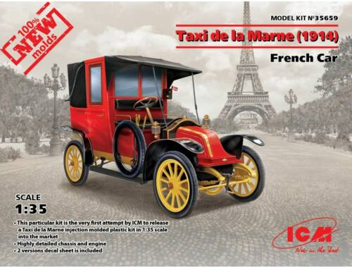 ICM Taxi de la Marne(1914),French Car 1:35 (35659)