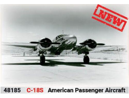ICM C18S,American Passenger Aircraft 1:48 (48185)