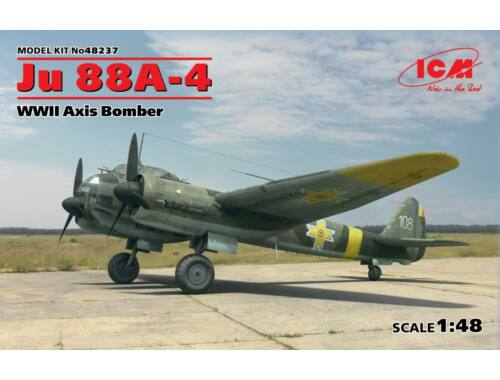ICM Ju 88A-4, WWII Axis Bomber 1:48 (48237)