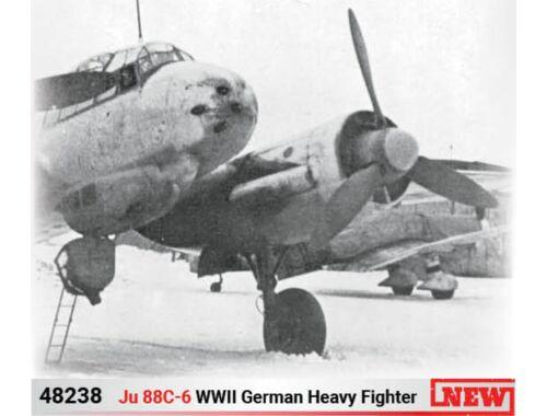 ICM Ju 88C-6, WWII German Heavy Fighter 1:48 (48238)