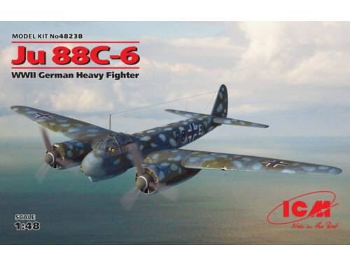 ICM Ju 88C-6, WWII German Heavy Fighter 1:48 (48238)