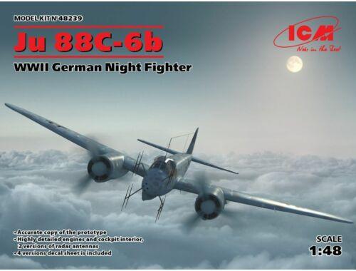 ICM Ju 88C-6b, WWII German Night Fighter 1:48 (48239)