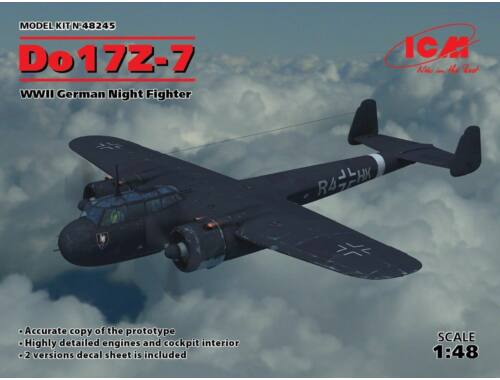 ICM Do 17Z-7, WWII German Night Fighter 1:48 (48245)