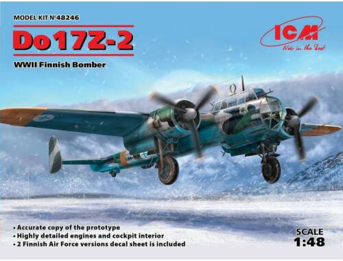 ICM Do 17Z-2, WWII Finnish Bomber 1:48 (48246)