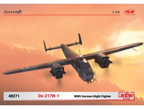 ICM Do 217N-1,WWII German Night Fighter (100% new molds) 1:48 (48271)
