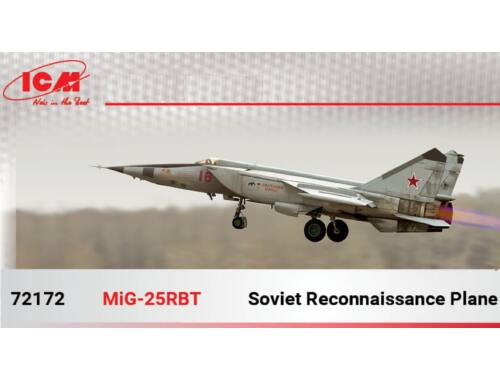 ICM MiG-25 RBT (100% new molds) 1:72 (72172)