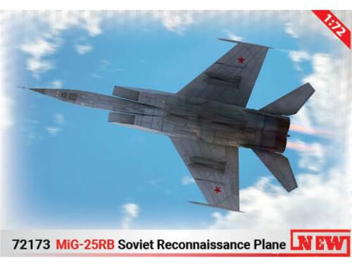 ICM MiG-25 RB (100% new molds) 1:72 (72173)