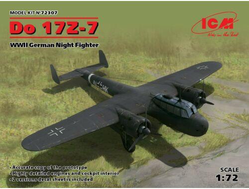 ICM Do 17Z-7, WWII German Night Fighter 1:72 (72307)