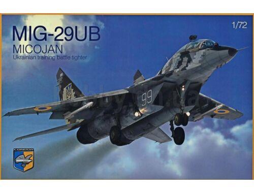 Condor MIG-29UB Ukrainian training battle tight 1:72 (72005)