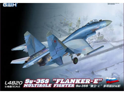 "Lion Roar SU-35S""Flanker E"" Multirole Fighter 1:48 (L4820)"
