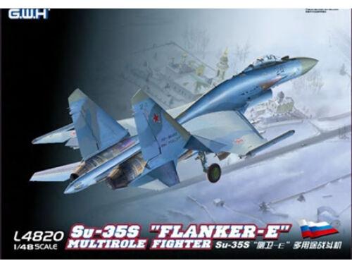 """Lion Roar SU-35S""""Flanker E"""" Multirole Fighter 1:48 (L4820)"""