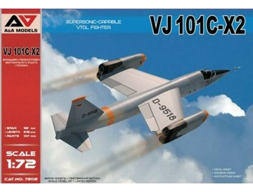 Lion Marc VJ101C-X2 Supersonic-capable VTOL fighte 1:72 (AA7202)