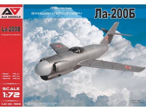 Lion Marc LA-200B All-weather experimental interce 1:72 (AA7205)