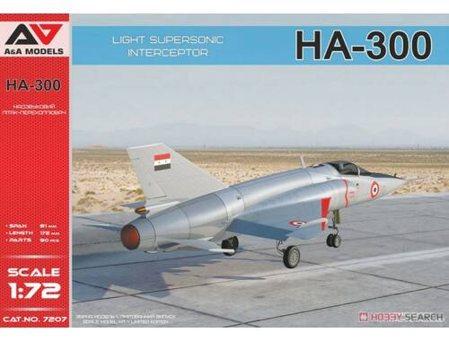 Lion Marc HA-300 Light supersonic interceptor 1:72 (AA7207)