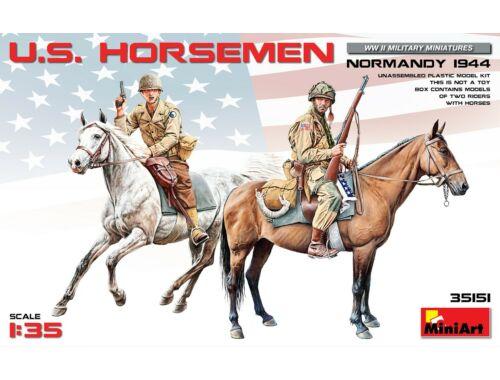 Miniart U.S.Horsemen, Normandy 1944 1:35 (35151)
