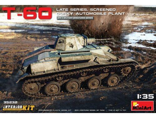 Miniart T-60 Late Series, Screened (Gorky Automobile Plant) Interior Kit 1:35 (35232)