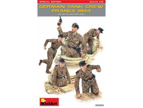Miniart German Tank Crew (France 1944) Special Edition 1:35 (35252)