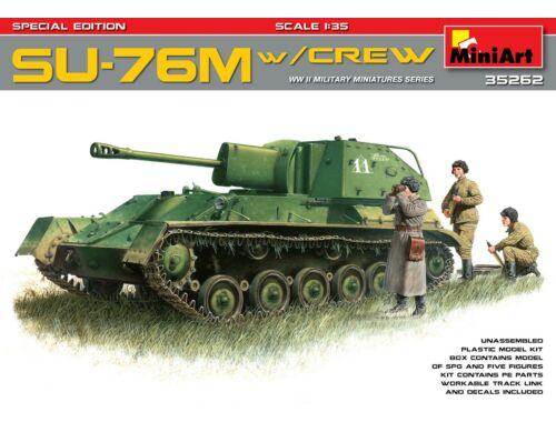 Miniart SU-76M w/Crew Special Edition 1:35 (35262)