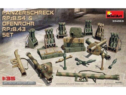 Miniart Panzerschreck RPzB.54   Ofenrohr RPzB.43 Set 1:35 (35263)