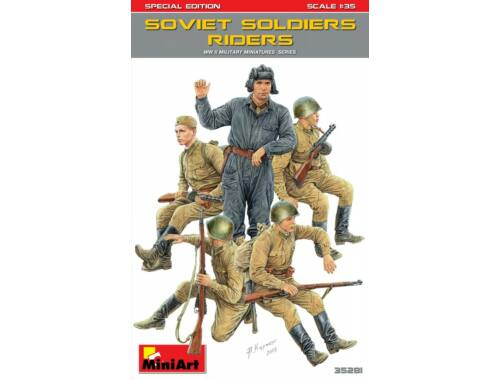 Miniart Soviet Soldiers Riders.Special Edition 1:35 (35281)