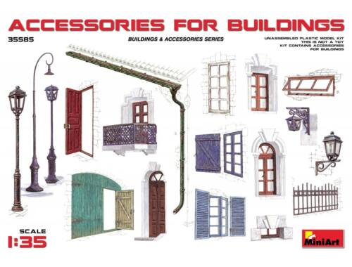 Miniart Accessories for Buildings 1:35 (35585)