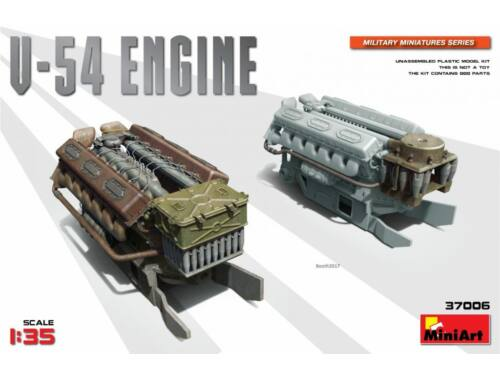 Miniart V-54 Engine 1:35 (37006)
