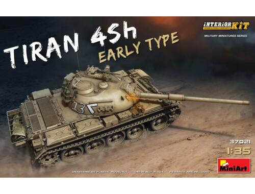Miniart Tiran 4 Sh Early Type.Interior Kit 1:35 (37021)