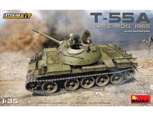 Miniart T-55A Late Mod.1965 Interior Kit 1:35 (37022)