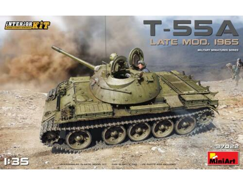 Miniart T-55A Late Mod.1965 Interior Kit 1:35 (37022)