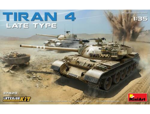 Miniart Tiran 4 Late Type. Interior Kit 1:35 (37029)