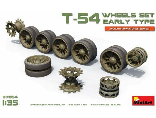 Miniart T-54 Wheels Set.Early Type 1:35 (37054)