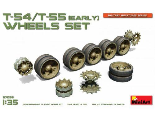 Miniart T-54/T-55(Early) Wheels Set 1:35 (37056)