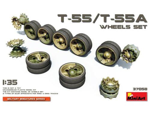 Miniart T-55/T-55A Wheels Set 1:35 (37058)