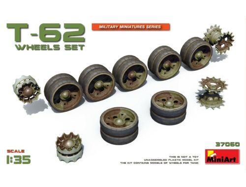 Miniart T-62 Wheels Set 1:35 (37060)