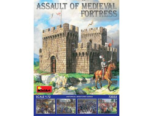 Miniart Assault of Medieval Fortress 1:72 (72033)