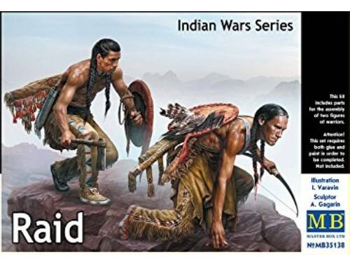 Master Box Indian Wars Series, Raid 1:35 (35138)