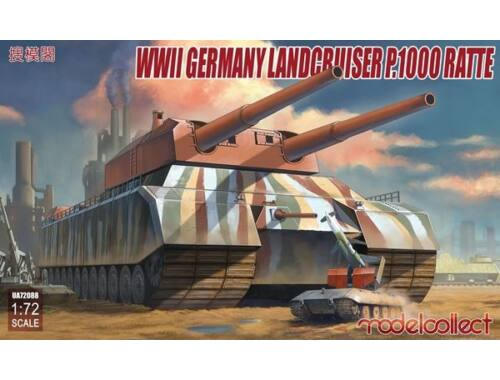 Modelcollect WWII German Landcruiser P.1000 ratte 1:72 (UA72088)