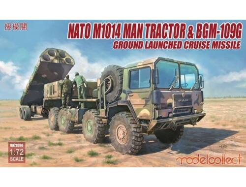 Modelcollect Nato M1001 MAN Tractor   BGM-109G Ground Launched Cruise Missile 1:72 (UA72096)