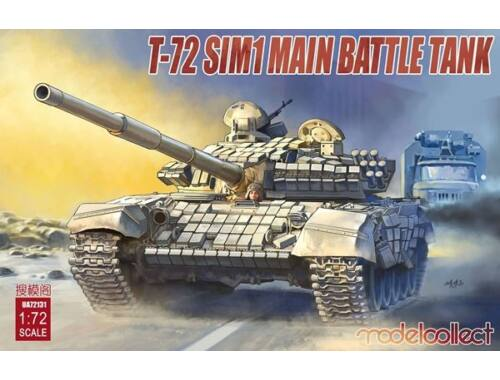 Modelcollect T-72 SIM1 Main Battle Tank 1:72 (UA72131)