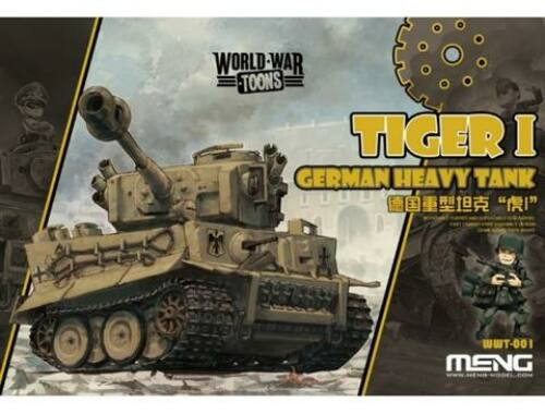 Meng German Tiger I WW Toons Model (WWT-001)