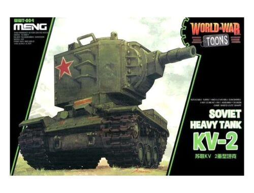 Meng Soviet Heavy Tank KV-2 WW Toons Model (WWT-004)