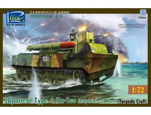 Riich Japanese Type 4 Ka-Tsu Amphibious Tank 1:72 (RT72004)