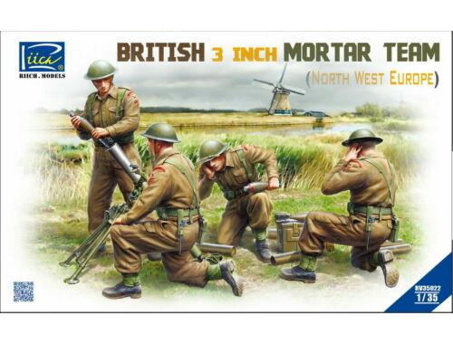 Riich British 3 inch Mortar Team set (North West Europe) 1:35 (RV35022)
